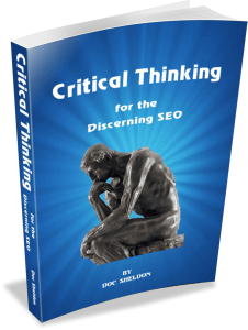 e-book, Critical Thinking for the Discerning SEO