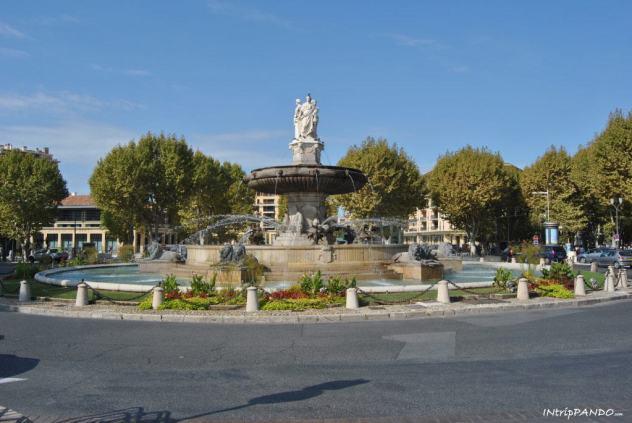fontana ad Aix en Provence