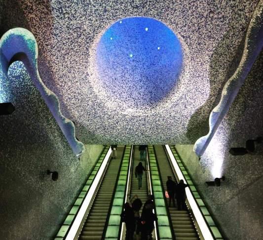 stazione metro Toledo a Napoli