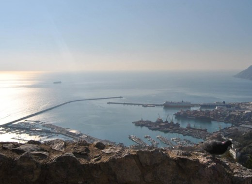 panorama del golfo di Salerno