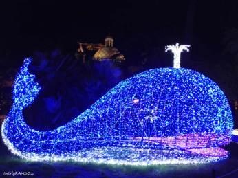 Luminarie di Salerno, balena di Pinocchio