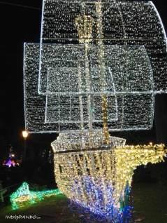 Luminarie di Salerno, galeone