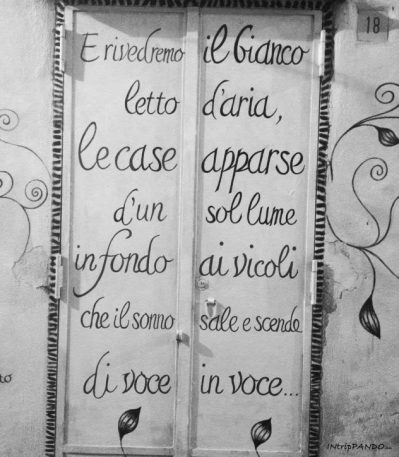 Poesia sui muri di Salerno