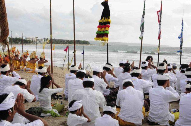 Celebrazioni giorno del silenzio a Bali