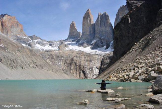 Mirador de las Torres nel parco di Torres del Paine