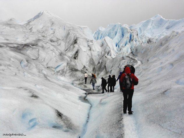 Trekking sul Perito Moreno