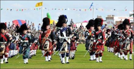 Highland games Scozia