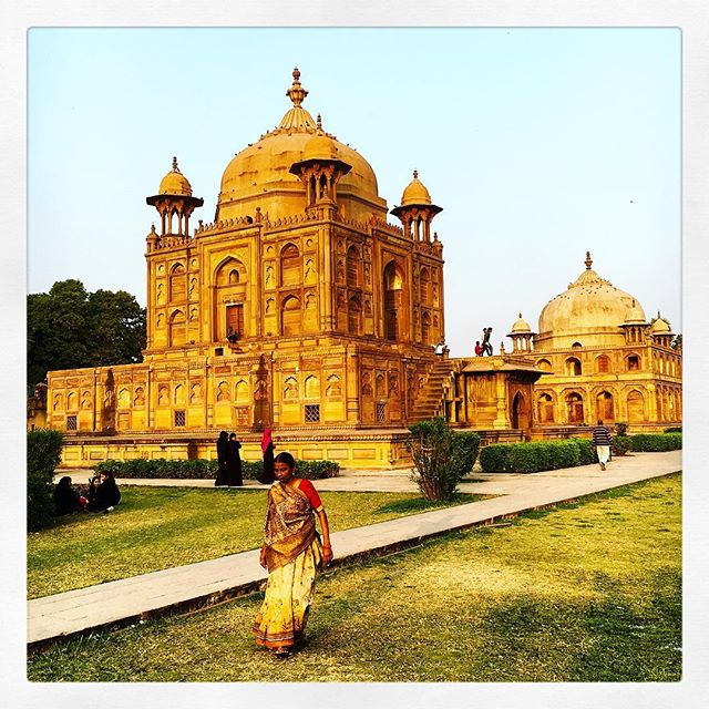 complesso di Khusro Bagh di Allahabad in India