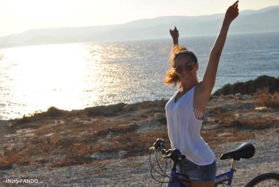 Visita di Koufunissi in bicicletta