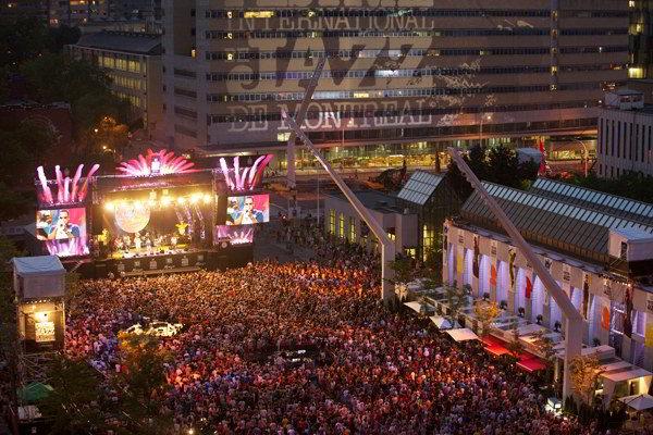 Grande folla al Montreal jazz festival