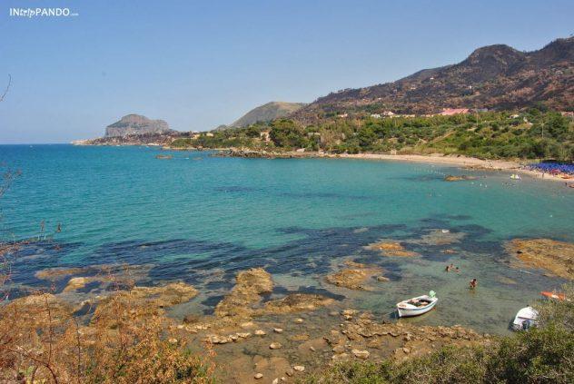 Il blu del mare di Cefalù