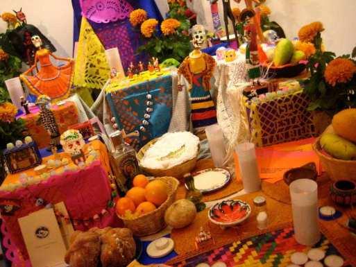 Festeggiamenti per il giorno dei morti in Messico