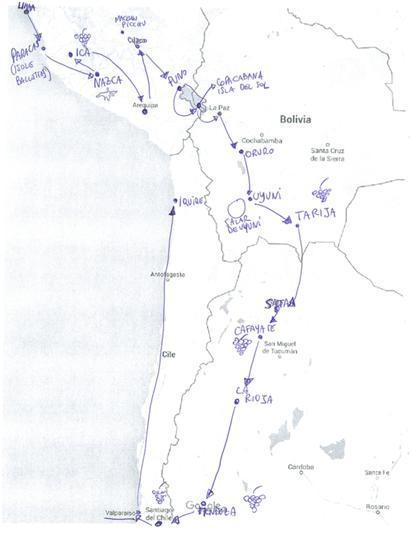 Mappa Divino Andino