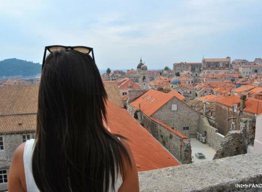 Vista di Dubrovnik dalle mura