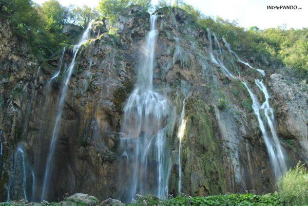 Big Fall nel parco di Plitvice