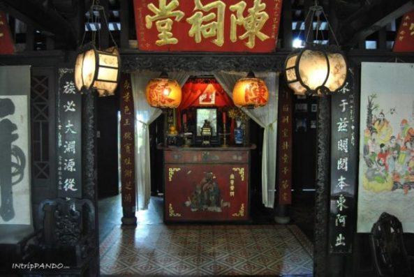 casa-corridoio a Hoi An