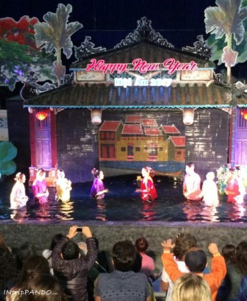 water puppet show a Hoi An