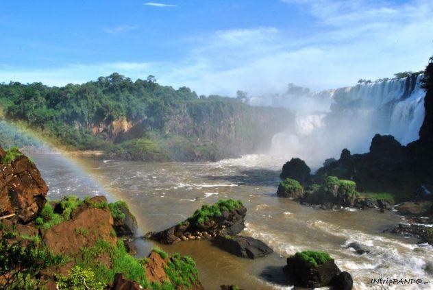 Cascate di Iguazu dal lato argentino