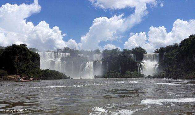 La Garganta del Diablo delle cascate di Iguazu
