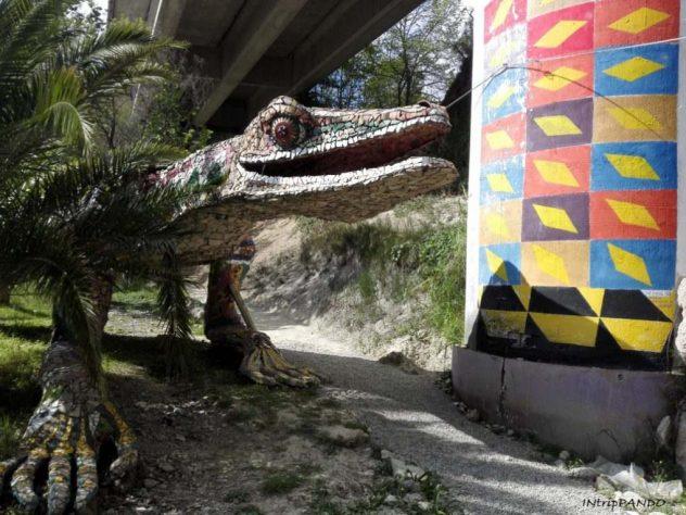 Lucertola gigante al Musaba