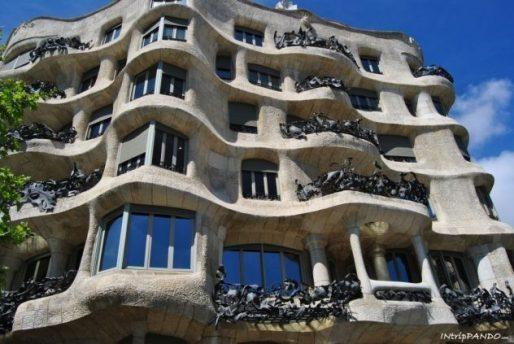 La Pedrera di Gaudi a Barcellona
