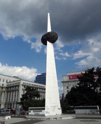 Bucarest Piazza della Rivoluzione