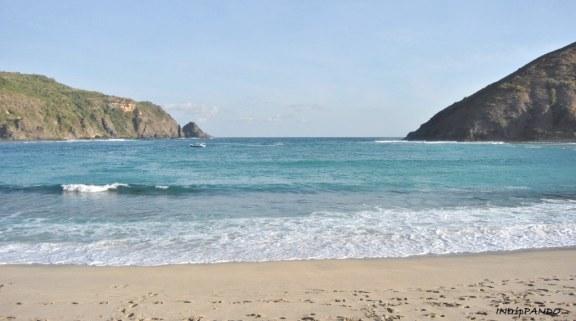 Spiaggia di Mawun a Lombok
