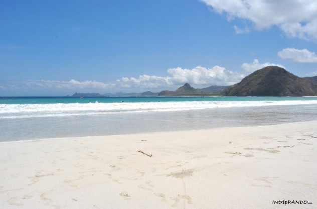 La spiaggia di Selong Belanak a Lombok