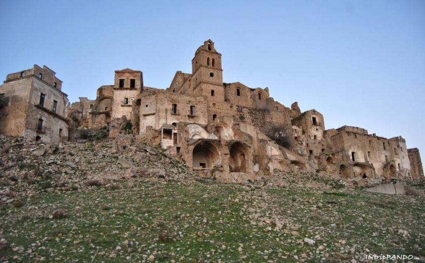 La città fantasma di Craco in Basilicata