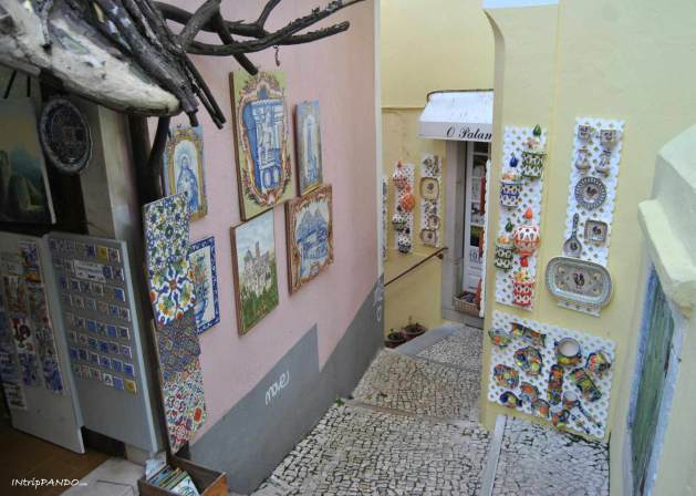Le caratteristiche ceramiche per le vie di Sintra