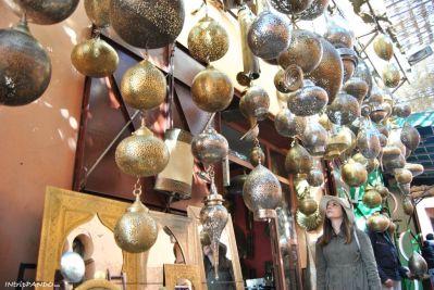 Lanterne per le strade di Marrakech