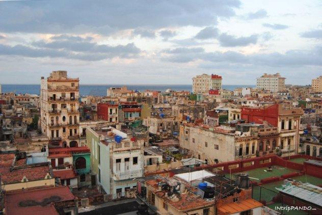 Panorama dell'Avana dall'alto