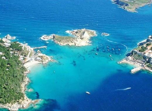 Vista delle Isole Tremiti
