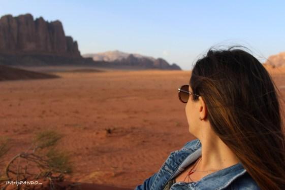 I rossi panorami del Wadi Rum