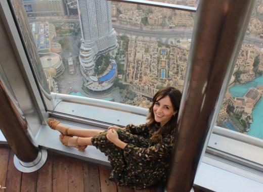 Burj Khalifa Dubai panorama