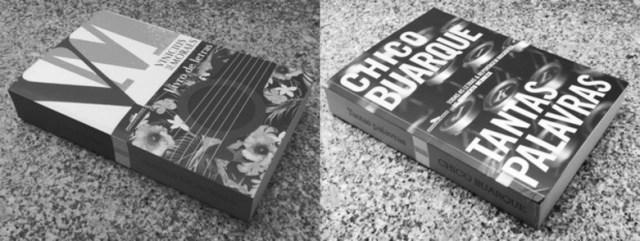 Recensão dos livros Tantas Palavras de Chico Buarque, e Livro de Letras de Vinicius de Moraes, edições da Companhia das Letras de 2018 e 2017 | INTRO