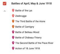 April, May, June 1918