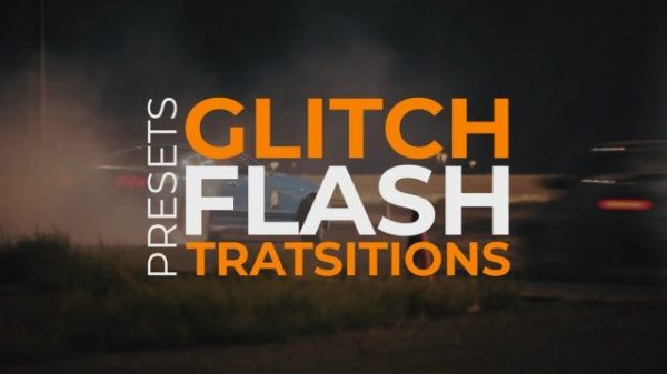 Glitch Flash Transitions » Free After Effects Template