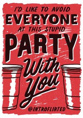 Introflirted #1: Stupid Party by Josh Higgins