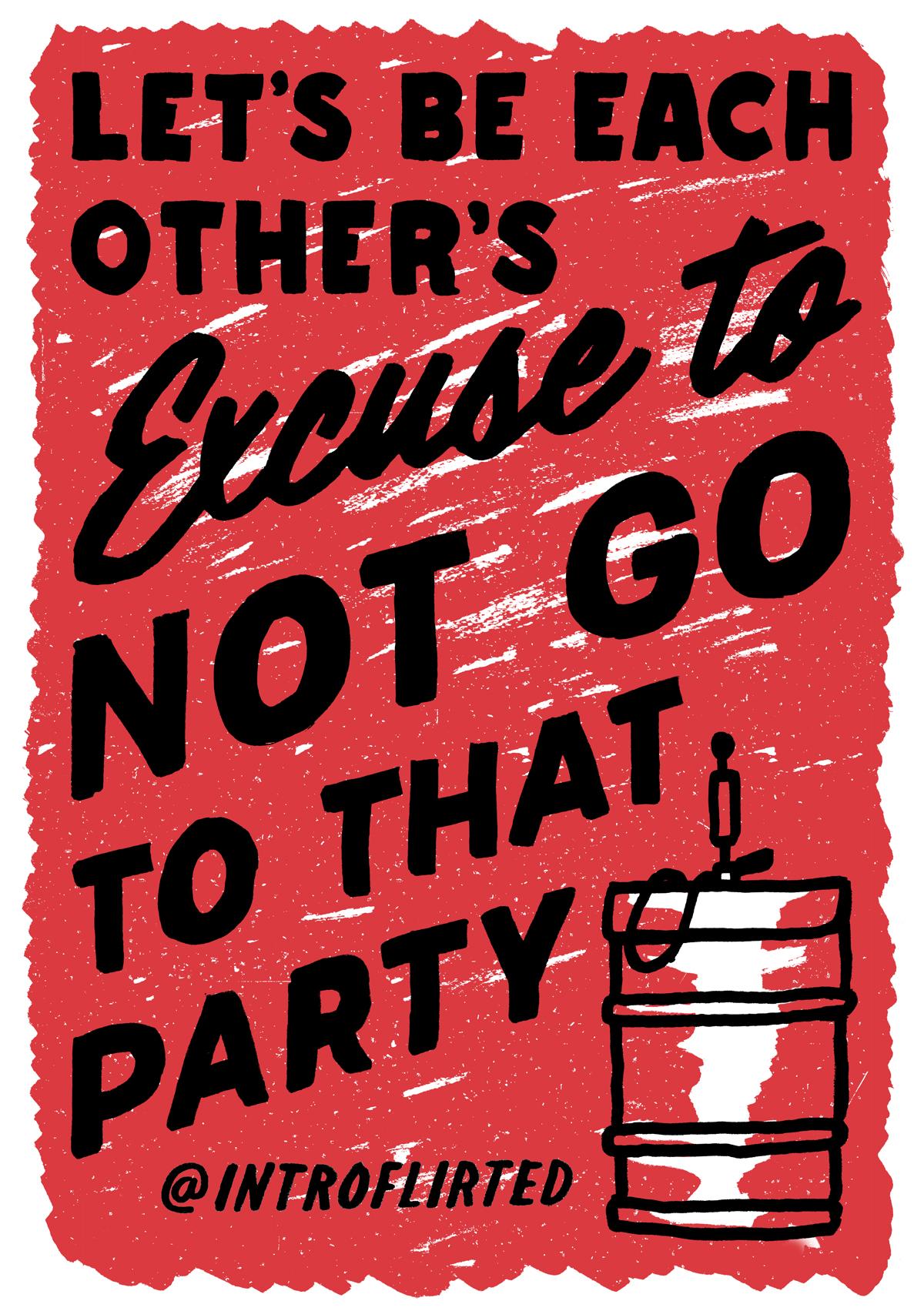 Introflirted #5 Excuse by Josh Higgins
