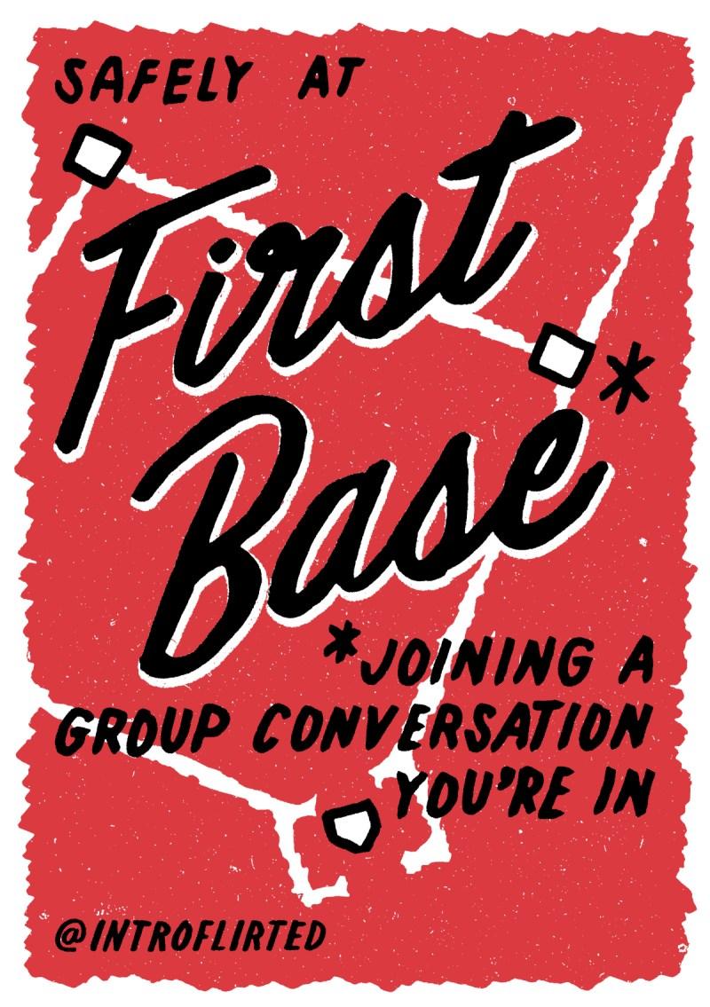 Introflirted #10 First Base by Josh Higgins