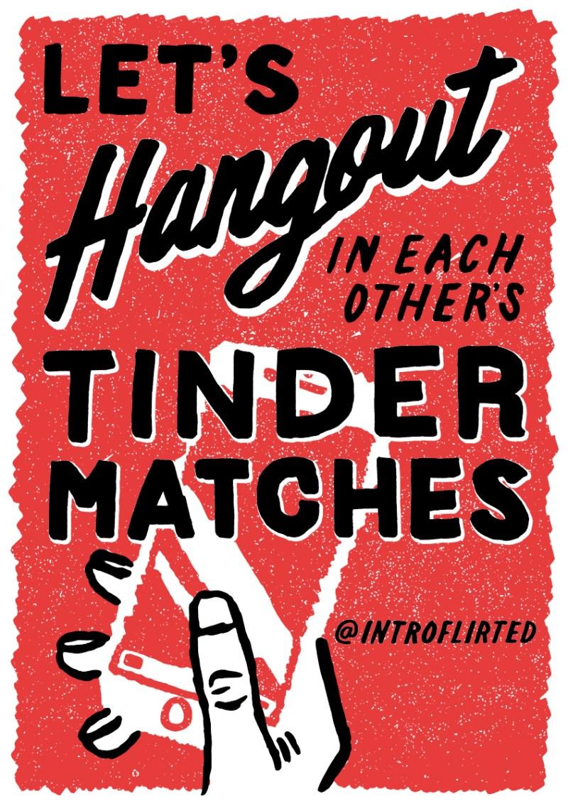 Introflirted #16 Tinder Hangout by Josh Higgins