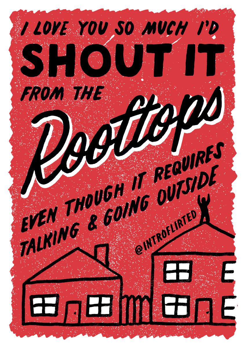 Introflirted #47 Shout It by Josh Higgins