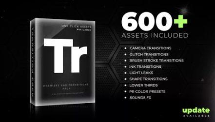 Transition Preset Pack Bundle for Premiere Pro - Akvstudios
