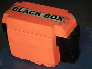 Flight recorder black box