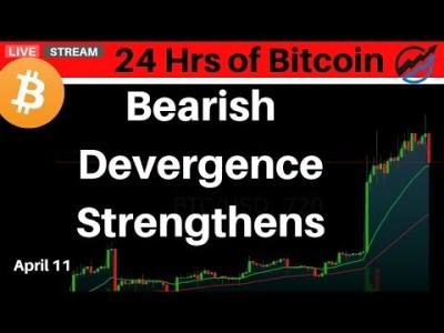 Bitcoin Correction Live Technical Analysis    Thursday April 11 2019