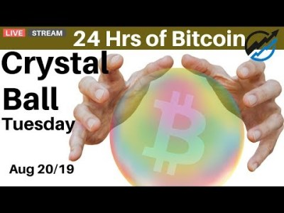 Today in Bitcoin – Crystal Ball Tuesday, a Crypto Trader's Morning Routine   Aug 20/19