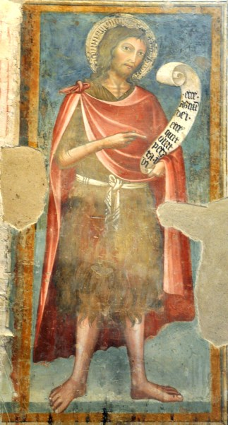 Figure 13 - John the Baptist, from Lorenzo and Jacopo Salimbeni's fresco cycle 'The Life of John the Baptist'.