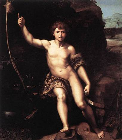 Figure 21 - Raphael, 'Saint John the Baptist in the Desert', 1518-'20.