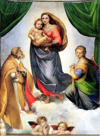 Raphael-sistine-madonna